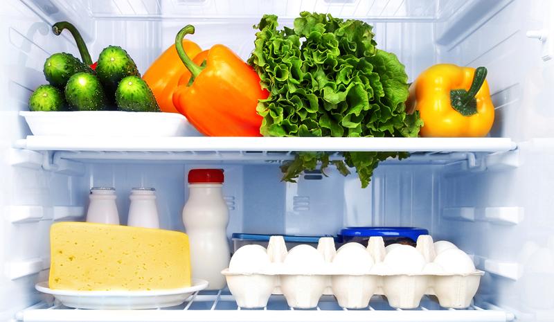 food-at-fridge